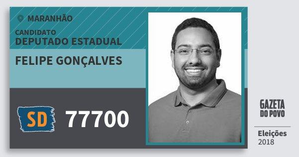 Santinho Felipe Gonçalves 77700 (SOLIDARIEDADE) Deputado Estadual | Maranhão | Eleições 2018