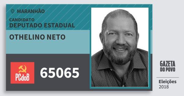 Santinho Othelino Neto 65065 (PC do B) Deputado Estadual | Maranhão | Eleições 2018