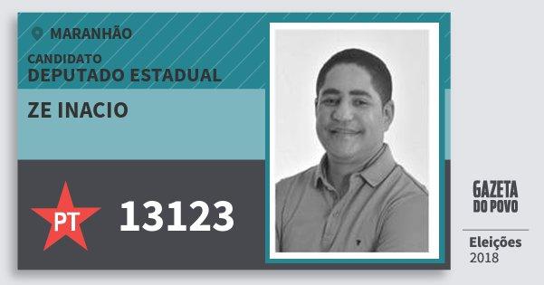 Santinho Ze Inacio 13123 (PT) Deputado Estadual | Maranhão | Eleições 2018