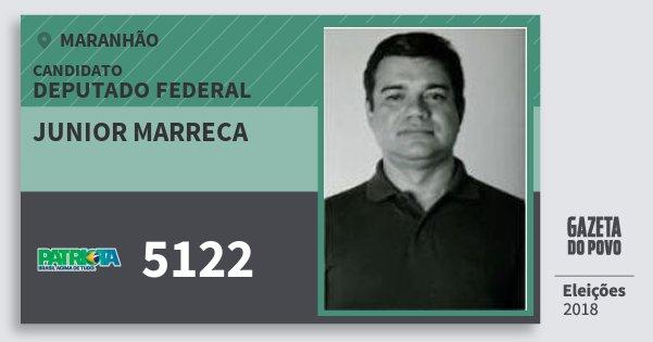 Santinho Junior Marreca 5122 (PATRI) Deputado Federal | Maranhão | Eleições 2018