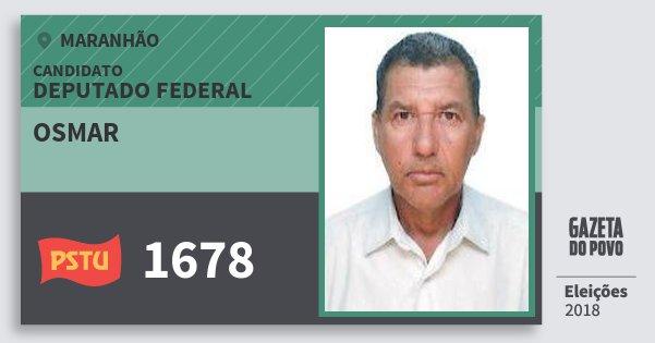 Santinho Osmar 1678 (PSTU) Deputado Federal | Maranhão | Eleições 2018