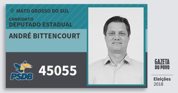 Santinho André Bittencourt 45055 (PSDB) Deputado Estadual | Mato Grosso do Sul | Eleições 2018