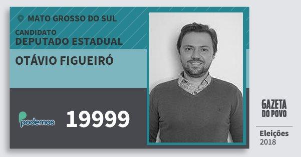 Santinho Otávio Figueiró 19999 (PODE) Deputado Estadual | Mato Grosso do Sul | Eleições 2018