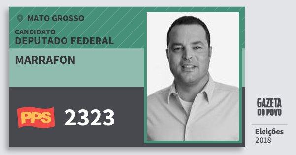 Santinho Marrafon 2323 (PPS) Deputado Federal | Mato Grosso | Eleições 2018