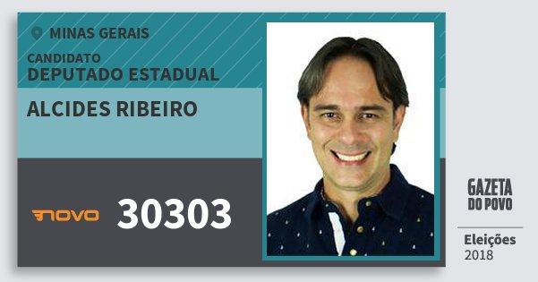 Santinho Alcides Ribeiro 30303 (NOVO) Deputado Estadual | Minas Gerais | Eleições 2018