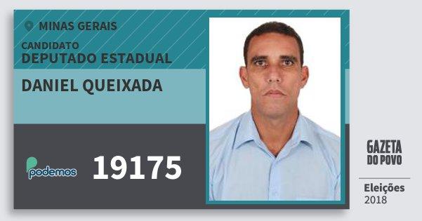 Santinho Daniel Queixada 19175 (PODE) Deputado Estadual | Minas Gerais | Eleições 2018