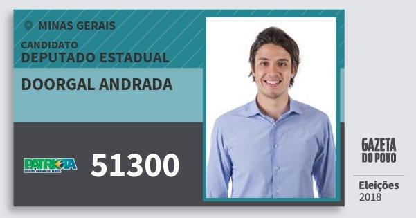 Santinho Doorgal Andrada 51300 (PATRI) Deputado Estadual | Minas Gerais | Eleições 2018