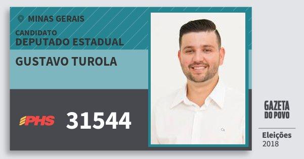 Santinho Gustavo Turola 31544 (PHS) Deputado Estadual | Minas Gerais | Eleições 2018