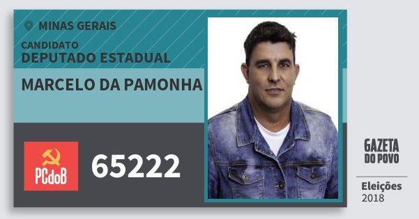 Santinho Marcelo da Pamonha 65222 (PC do B) Deputado Estadual | Minas Gerais | Eleições 2018