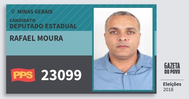 Santinho Rafael Moura 23099 (PPS) Deputado Estadual | Minas Gerais | Eleições 2018