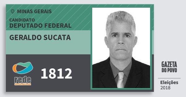Santinho Geraldo Sucata 1812 (REDE) Deputado Federal | Minas Gerais | Eleições 2018