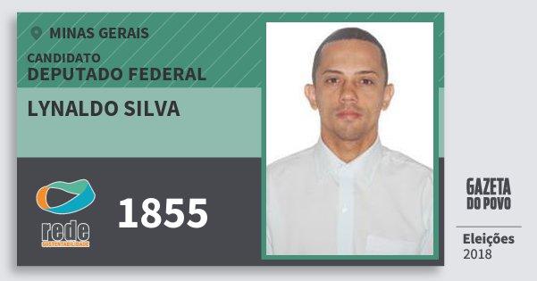 Santinho Lynaldo Silva 1855 (REDE) Deputado Federal | Minas Gerais | Eleições 2018