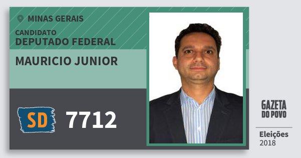 Santinho Mauricio Junior 7712 (SOLIDARIEDADE) Deputado Federal | Minas Gerais | Eleições 2018