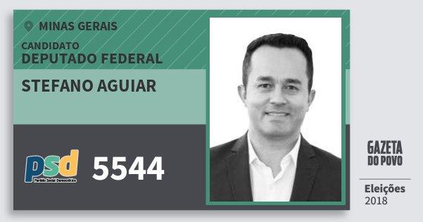 Santinho Stefano Aguiar 5544 (PSD) Deputado Federal | Minas Gerais | Eleições 2018