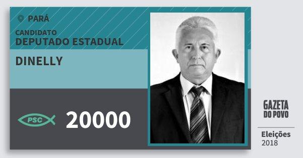 Santinho Dinelly 20000 (PSC) Deputado Estadual | Pará | Eleições 2018