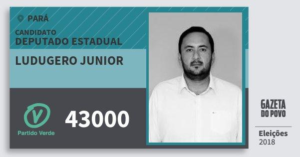 Santinho Ludugero Junior 43000 (PV) Deputado Estadual | Pará | Eleições 2018