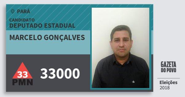 Santinho Marcelo Gonçalves 33000 (PMN) Deputado Estadual | Pará | Eleições 2018