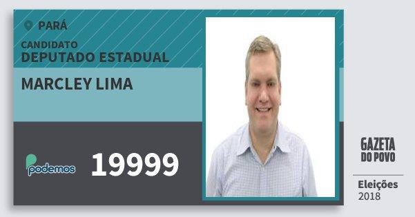 Santinho Marcley Lima 19999 (PODE) Deputado Estadual | Pará | Eleições 2018