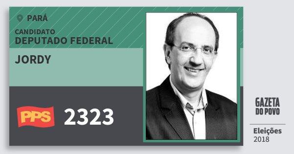 Santinho Jordy 2323 (PPS) Deputado Federal | Pará | Eleições 2018