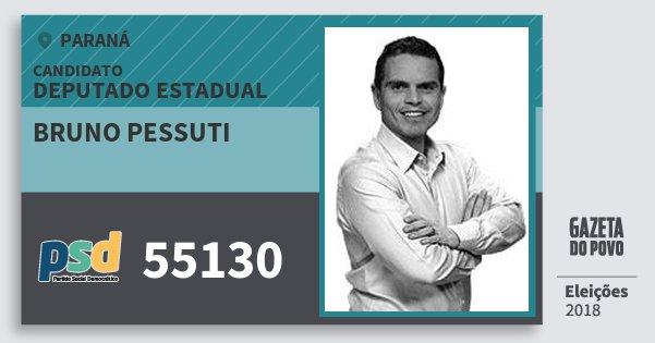 Santinho Bruno Pessuti 55130 (PSD) Deputado Estadual | Paraná | Eleições 2018