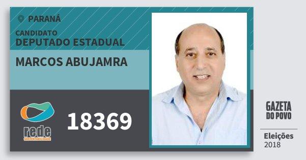 Santinho Marcos Abujamra 18369 (REDE) Deputado Estadual | Paraná | Eleições 2018