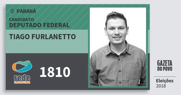 Santinho Tiago Furlanetto 1810 (REDE) Deputado Federal | Paraná | Eleições 2018