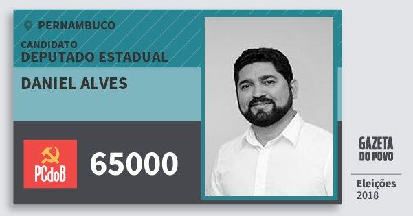 Santinho Daniel Alves 65000 (PC do B) Deputado Estadual | Pernambuco | Eleições 2018