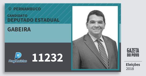 Santinho Gabeira 11232 (PP) Deputado Estadual | Pernambuco | Eleições 2018