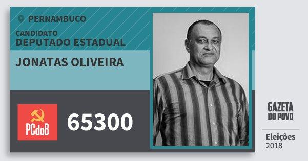 Santinho Jonatas Oliveira 65300 (PC do B) Deputado Estadual | Pernambuco | Eleições 2018