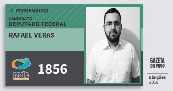Santinho Rafael Veras 1856 (REDE) Deputado Federal | Pernambuco | Eleições 2018
