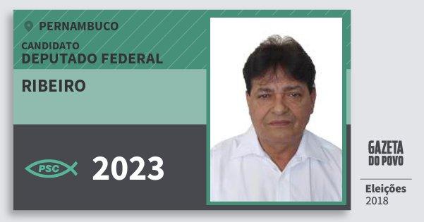 Santinho Ribeiro 2023 (PSC) Deputado Federal | Pernambuco | Eleições 2018