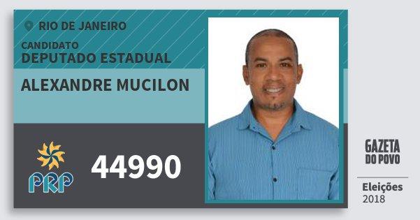 Santinho Alexandre Mucilon 44990 (PRP) Deputado Estadual | Rio de Janeiro | Eleições 2018