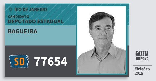 Santinho Bagueira 77654 (SOLIDARIEDADE) Deputado Estadual | Rio de Janeiro | Eleições 2018