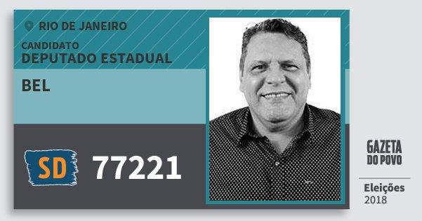 Santinho Bel 77221 (SOLIDARIEDADE) Deputado Estadual | Rio de Janeiro | Eleições 2018