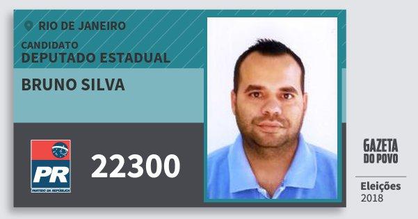 Santinho Bruno Silva 22300 (PR) Deputado Estadual | Rio de Janeiro | Eleições 2018