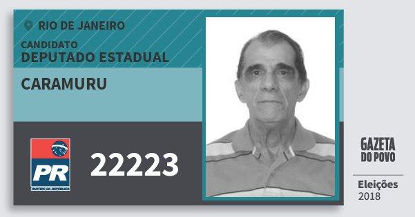Santinho Caramuru 22223 (PR) Deputado Estadual | Rio de Janeiro | Eleições 2018