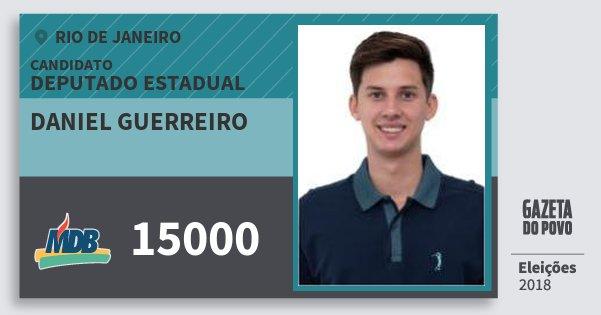 Santinho Daniel Guerreiro 15000 (MDB) Deputado Estadual | Rio de Janeiro | Eleições 2018