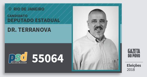 Santinho Dr. Terranova 55064 (PSD) Deputado Estadual | Rio de Janeiro | Eleições 2018