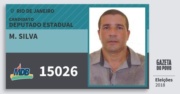 Santinho M. Silva 15026 (MDB) Deputado Estadual   Rio de Janeiro   Eleições 2018