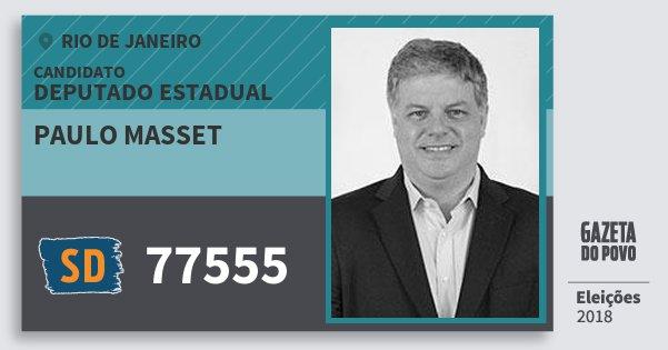 9c42e3f5af078 Santinho Paulo Masset 77555 (SOLIDARIEDADE) Deputado Estadual