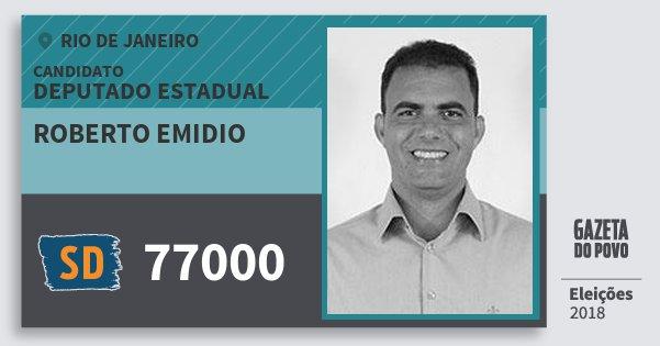 e141e4b61e456 Santinho Roberto Emidio 77000 (SOLIDARIEDADE) Deputado Estadual
