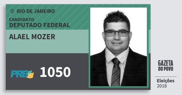Santinho Alael Mozer 1050 (PRB) Deputado Federal | Rio de Janeiro | Eleições 2018
