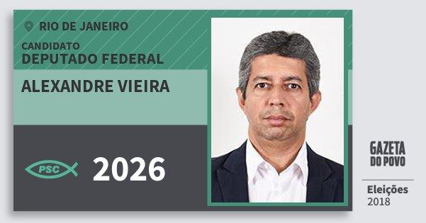 Santinho Alexandre Vieira 2026 (PSC) Deputado Federal | Rio de Janeiro | Eleições 2018