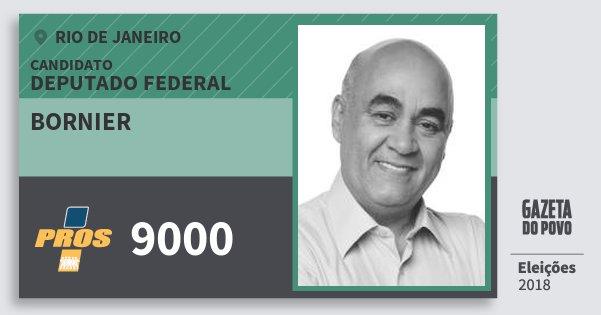 Santinho Bornier 9000 (PROS) Deputado Federal | Rio de Janeiro | Eleições 2018