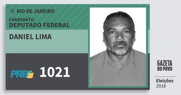 Santinho Daniel Lima 1021 (PRB) Deputado Federal | Rio de Janeiro | Eleições 2018