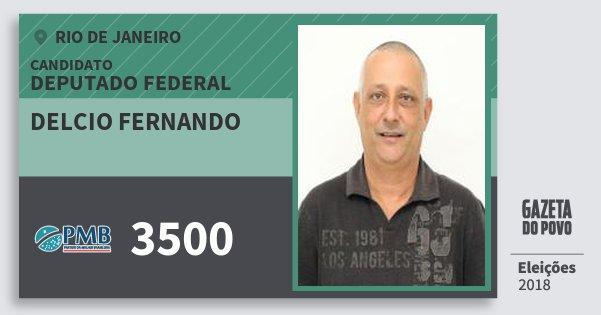 Santinho Delcio Fernando 3500 (PMB) Deputado Federal | Rio de Janeiro | Eleições 2018
