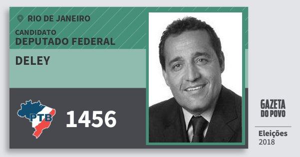 Santinho Deley 1456 (PTB) Deputado Federal | Rio de Janeiro | Eleições 2018