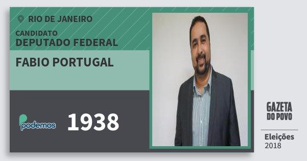 Santinho Fabio Portugal 1938 (PODE) Deputado Federal | Rio de Janeiro | Eleições 2018