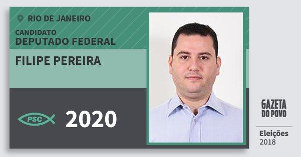 Santinho Filipe Pereira 2020 (PSC) Deputado Federal | Rio de Janeiro | Eleições 2018