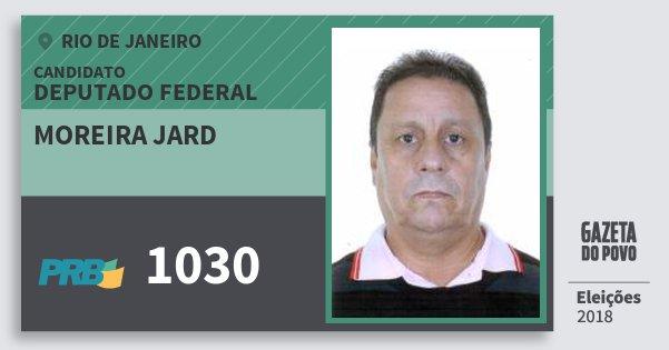 Santinho Moreira Jard 1030 (PRB) Deputado Federal | Rio de Janeiro | Eleições 2018
